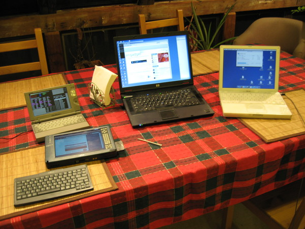 Libretto, LT C-500, HP nw 8440, iBook G3-500