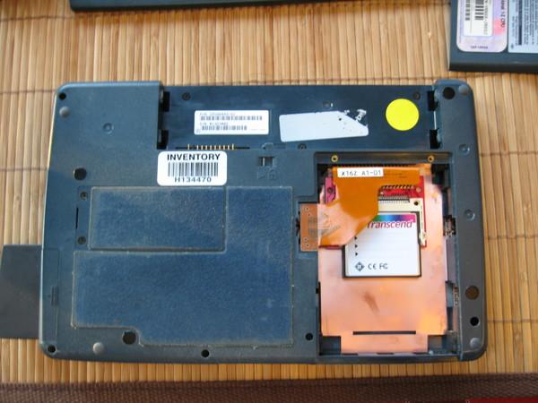 CF SSD inside LT C-500