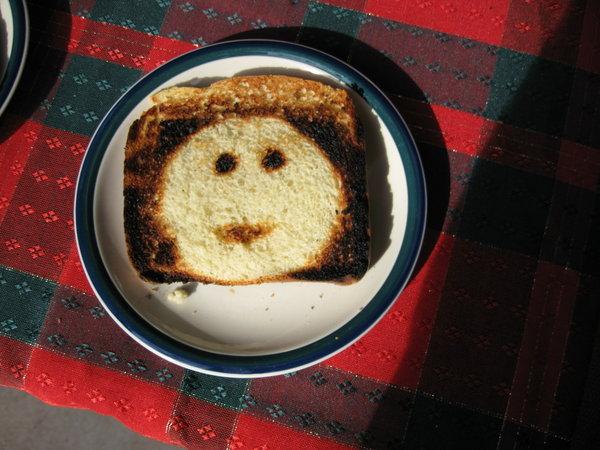 Happy toast, yum!