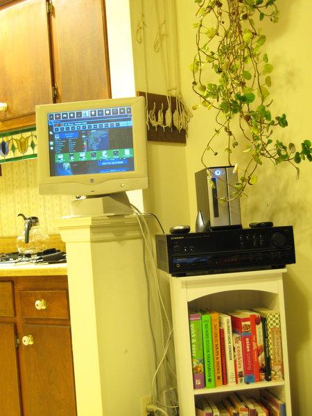 Japi's kitchen linux computer
