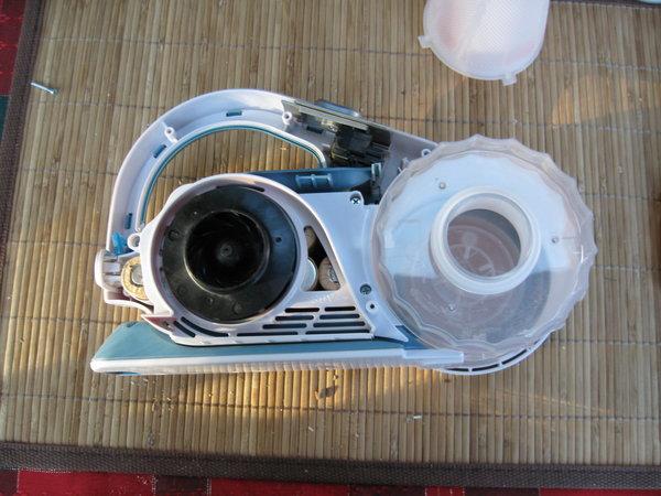PHV1800 disassembled