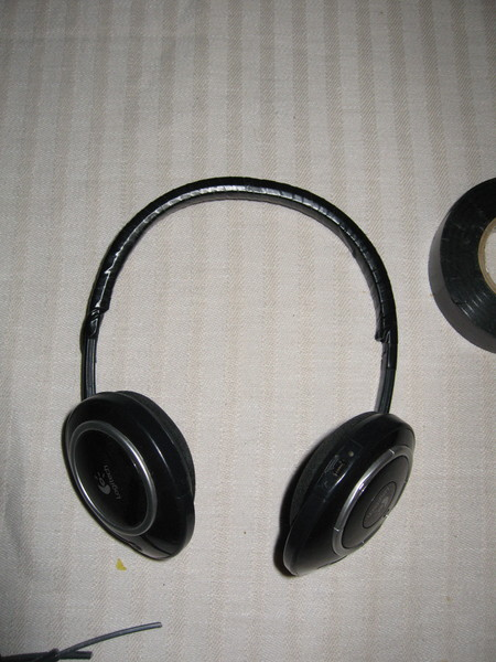 Repaired Logitech headphones