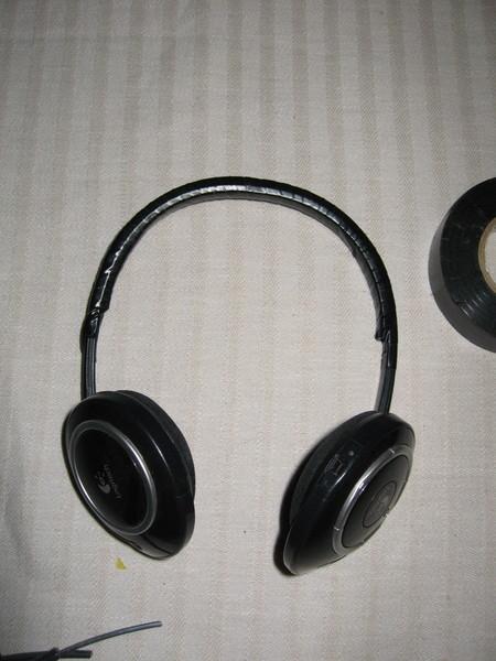 Repaired Logitech headphones