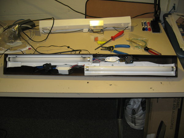 Upgraded light kit
